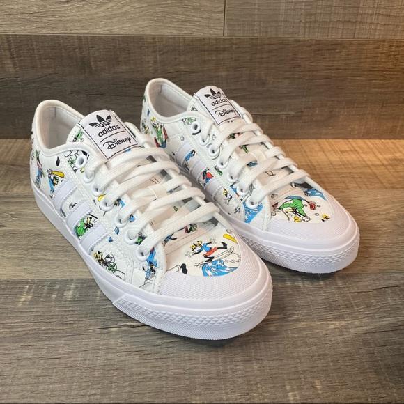 Disney X Adidas Nizza 'Sport Goofy Pack - White'